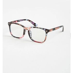 Floral Screen Safety Glasses